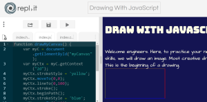 You can use JavaScript to draw a picture.